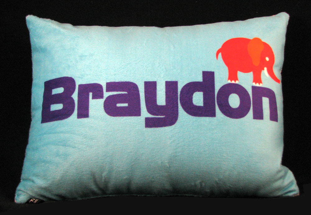 Elephant Personalized Pillow