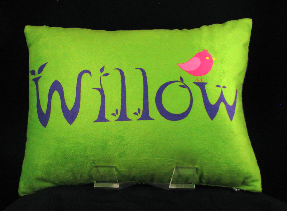 Birdie Personalized Pillow