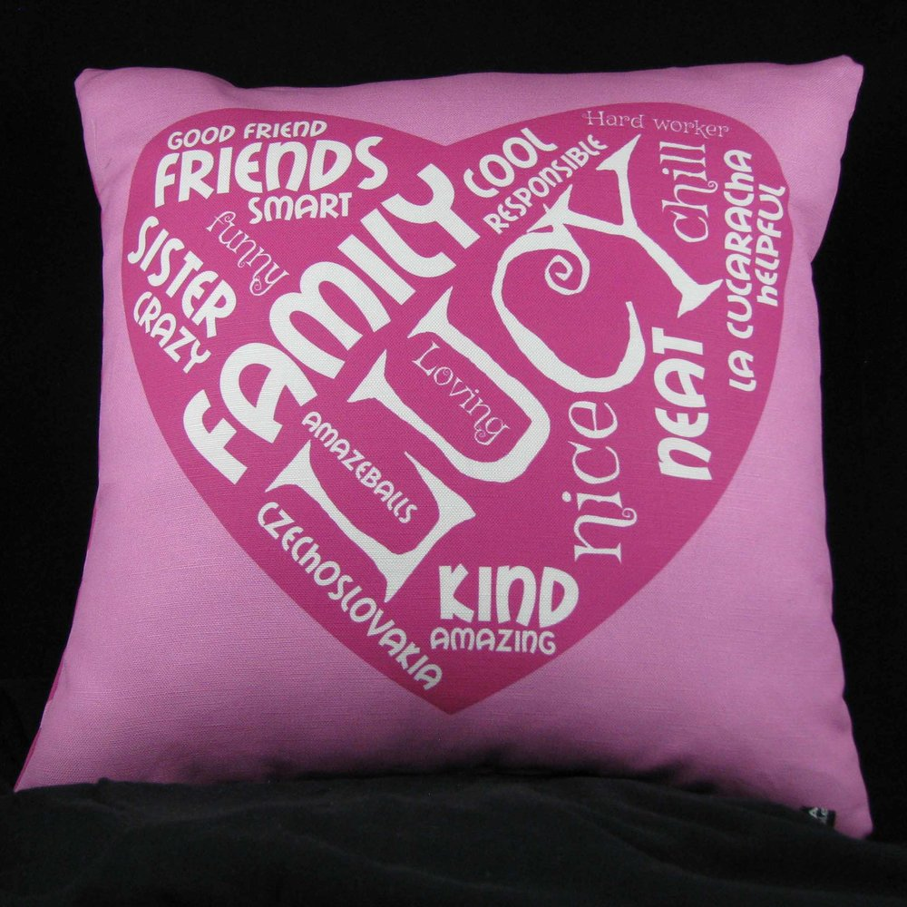 FRIENDSHIP PILLOW