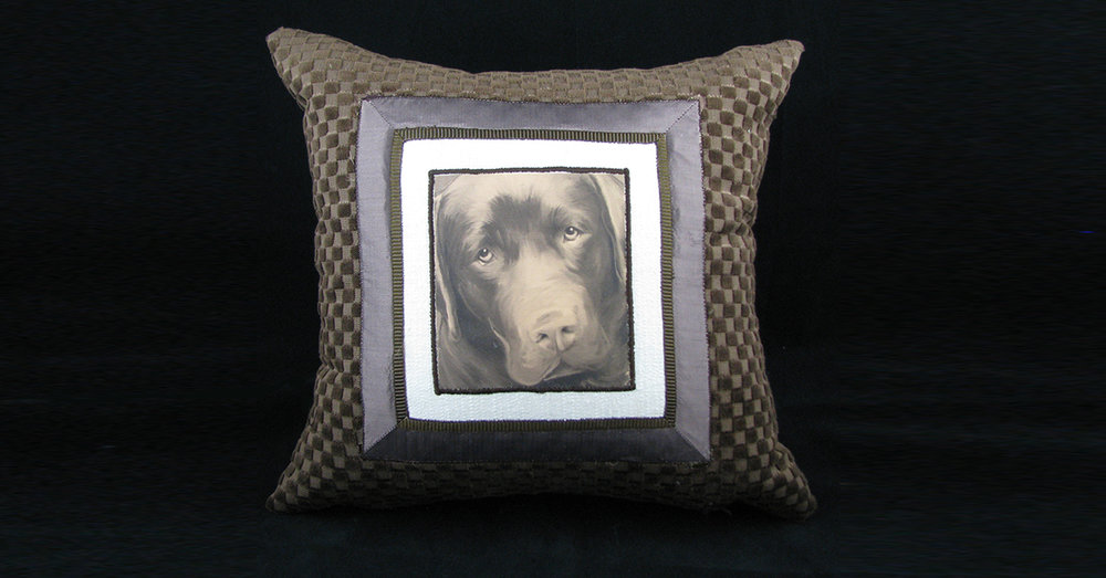 Dog Photo Pillow