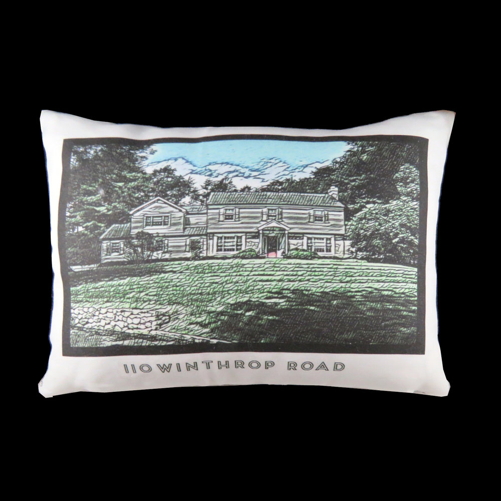 PEN AND INK PILLOW - THICK STYLE