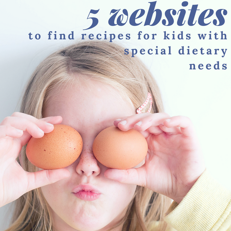 5 Websites for Recipes for Dietary Needs