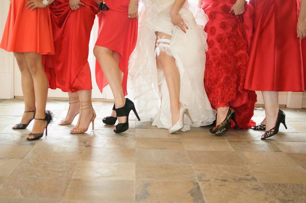 Fun Bridal Party Shoes