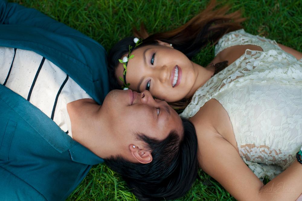 Cute Couple Engagement Photo