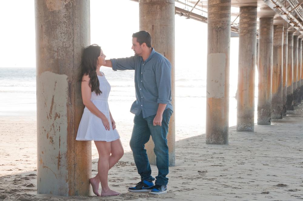 Venice Beach Pier Engagement
