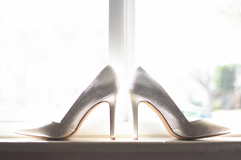 Vince Camuto Bridal Heels