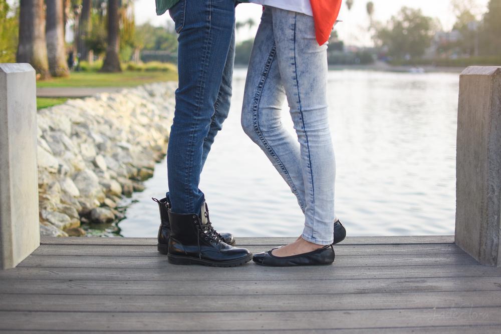 LGBT Echo Park Engagement Shoes