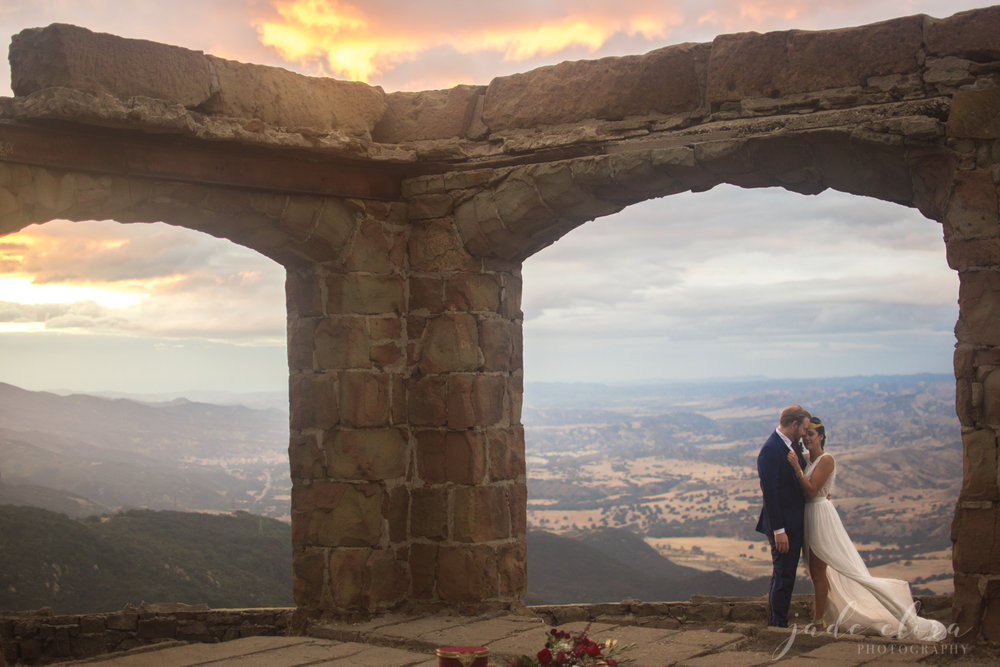 Wonder Woman Inspired Clifftop Elopement in Santa Barbara