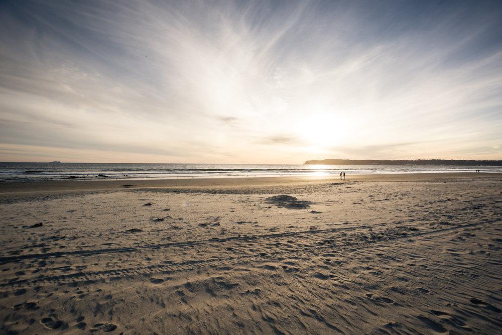 Satisfying Sunset at the Coronado Beach