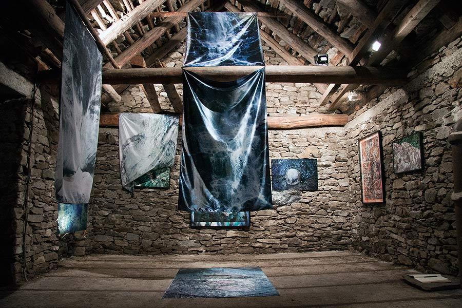 Exhibition space - Tecc dar Giacomina - Sonogno, Switzerland