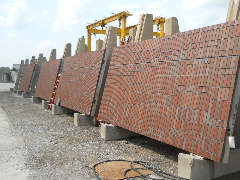Precast Concrete Panel With Brick : Wexner medical center — dominick j gallegos