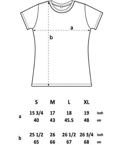 Women's size chart /// Größentabelle Frauen