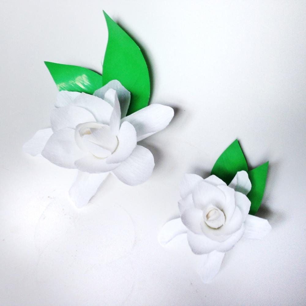 Paper Gardenias