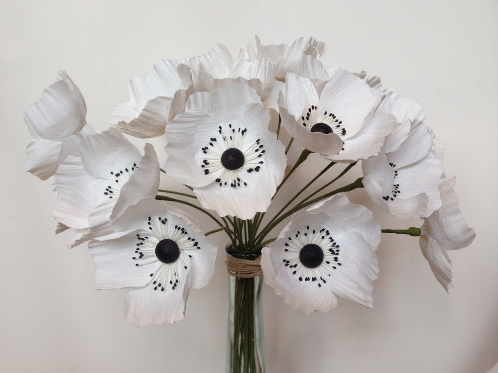 Paper Anemones