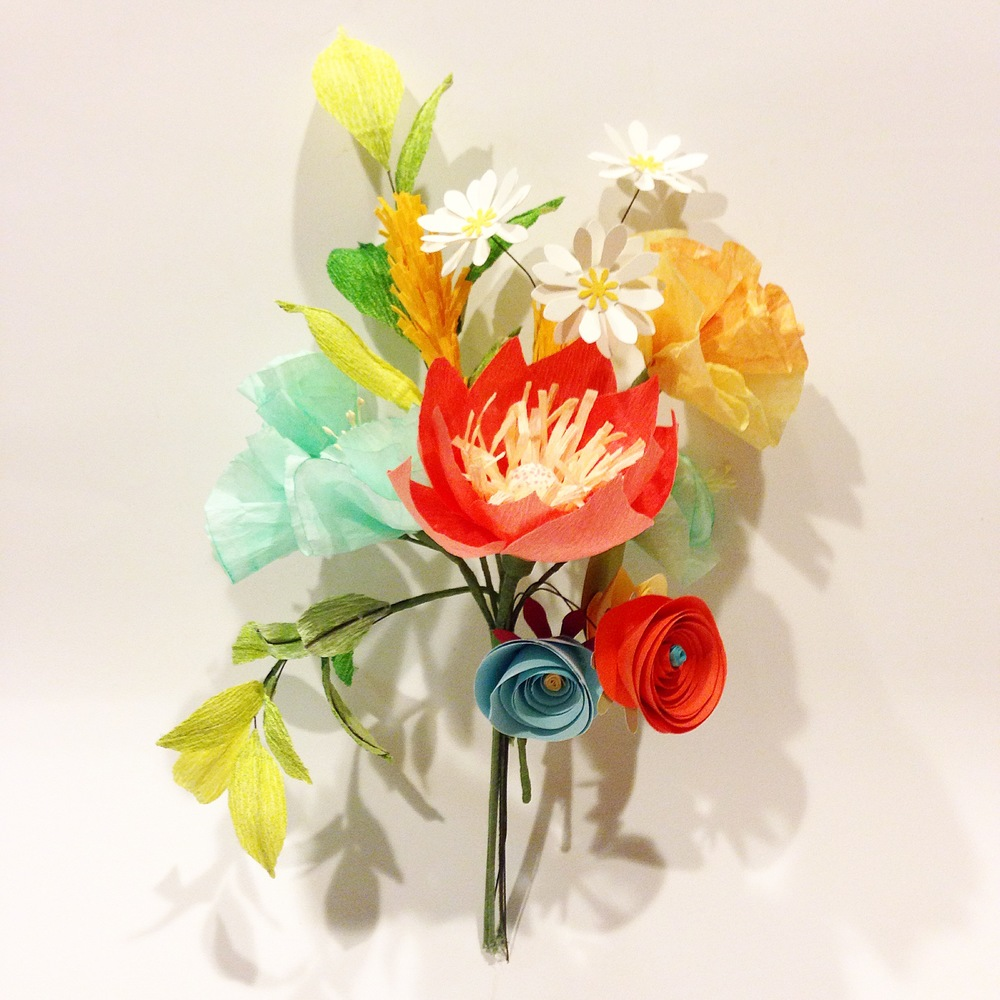 Bespoke Paper Flower Arrangement