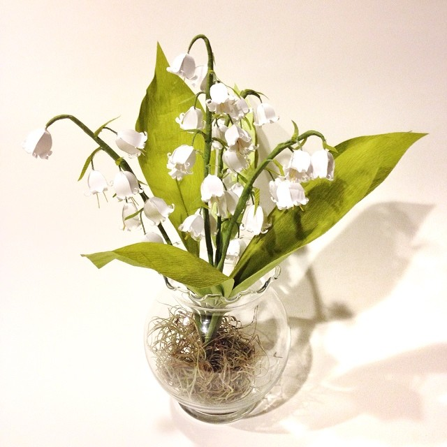 Lily of the Valley #paperflowers