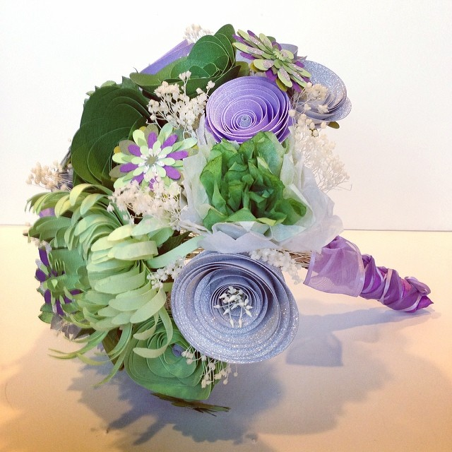 Bridal bouquet for an awesome client!