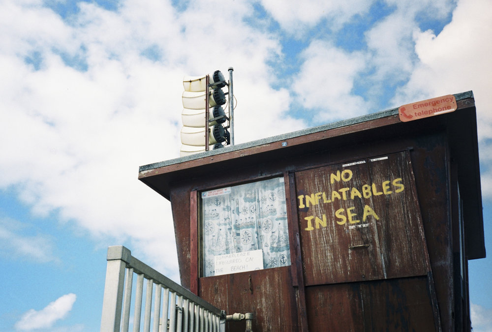 The British Seaside - (1998 - 2008)This series of work has been compiled over a period of 10 years documenting the best of British seaside life from all over the country. The work explores and depicts the eclectic and quirky culture of the British Seaside.