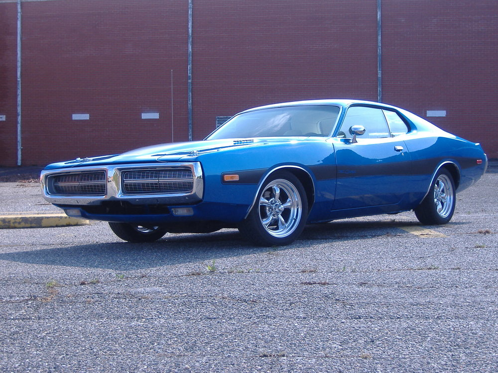 1973 dodge charger rallye B5 blue