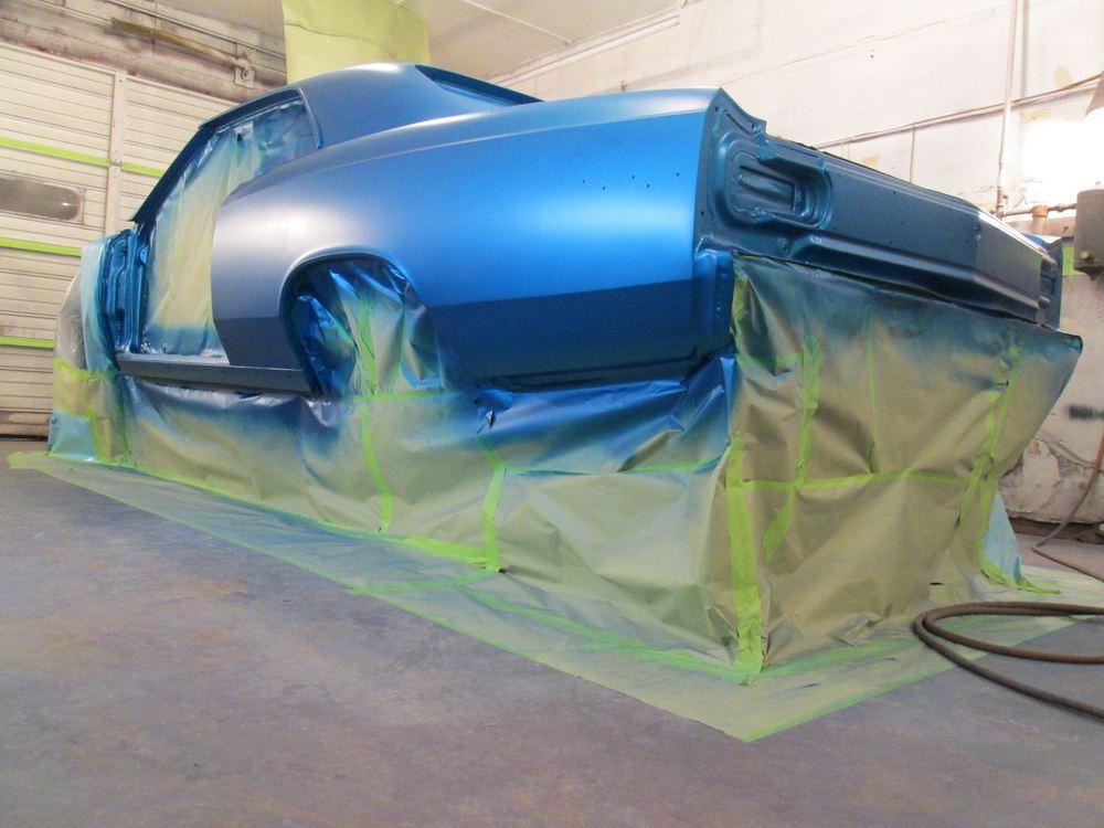 1966 Chevelle Speedway blue