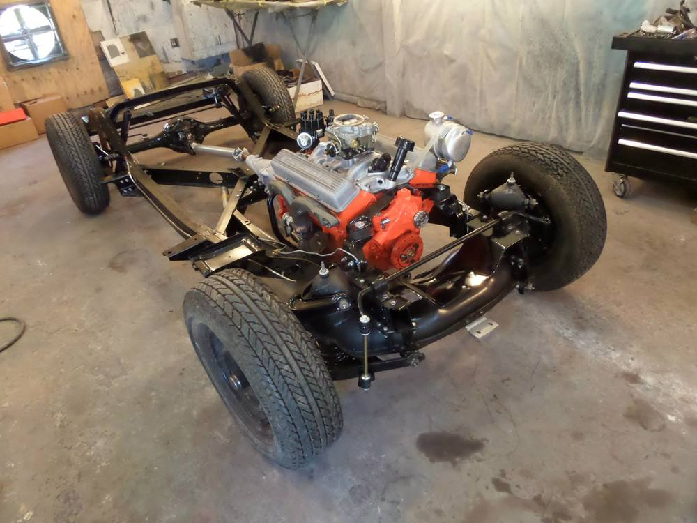 1962 Corvette Frame off Restoration