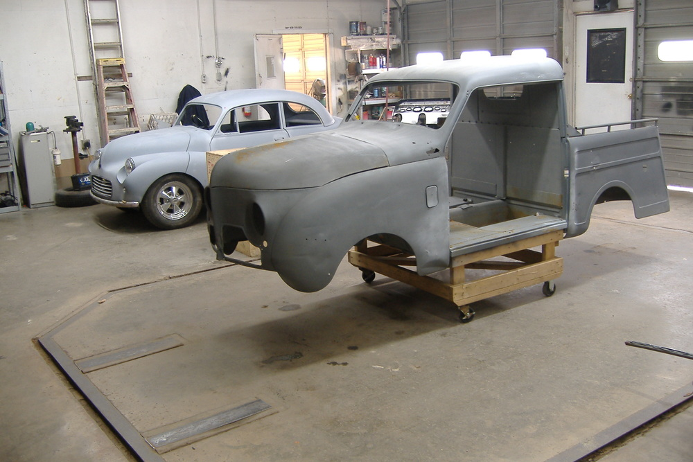 Custom cars Morris Minor Crosley