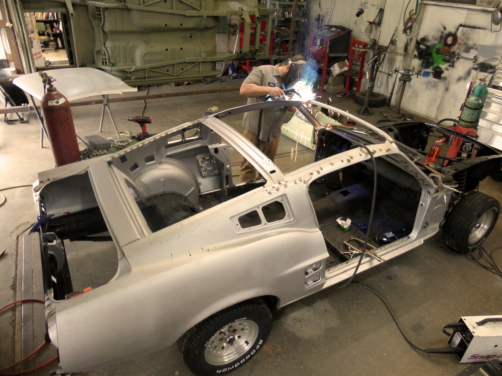 1967 Mustang Coupe To Fastback Conversion Kit Html Autos