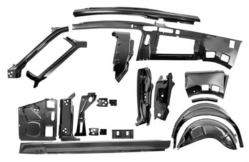 3645UA-C - Fastback Metal Assembly