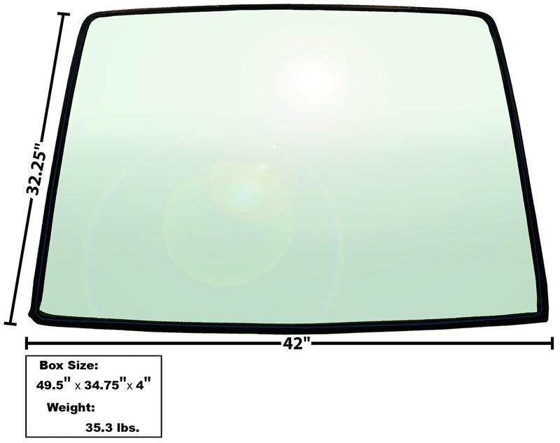 X3671 -Mustang Fastback Rear window