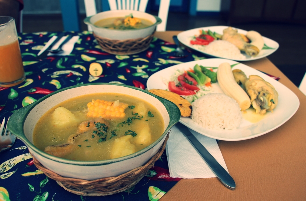ajiaco soup - a classic