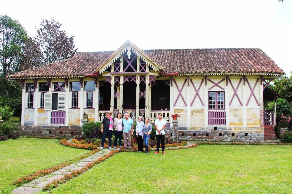 Hacienda El Porvenir, built 1900