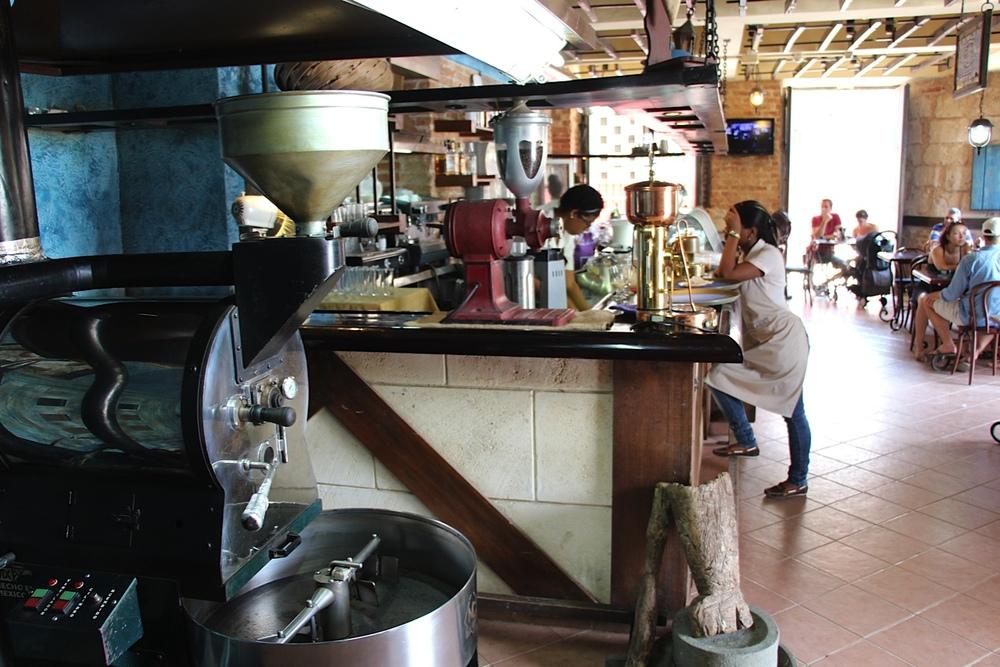 Café El Escorial in Havana's Plaza Vieja