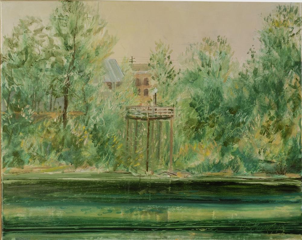 Willamette River Deck