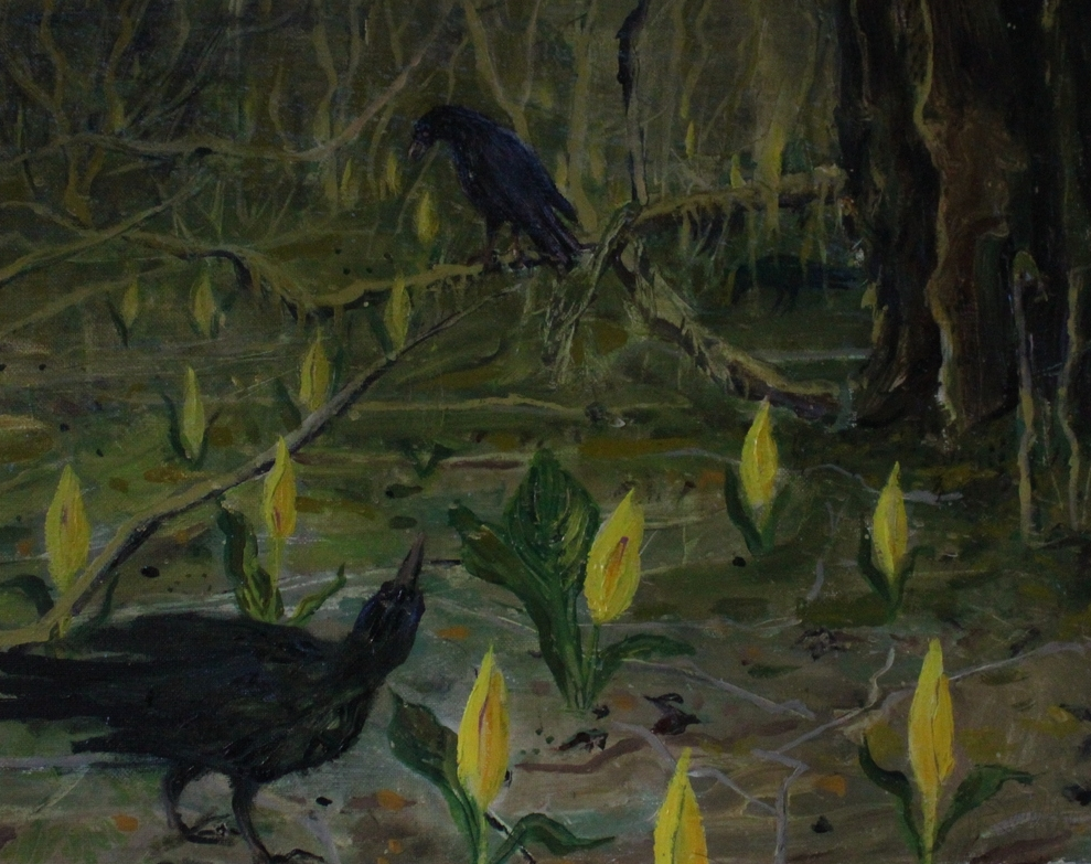 Crows and Swamp Lights