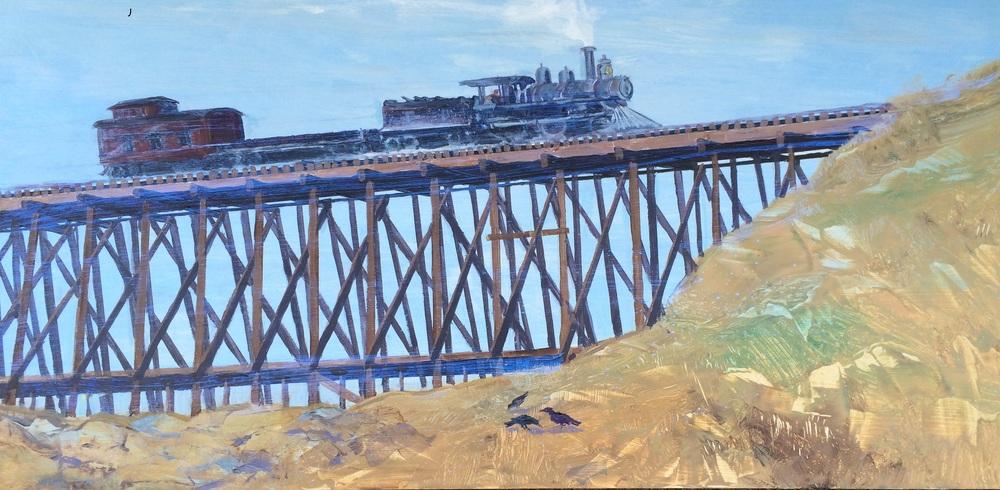 The Train The Buffalo II