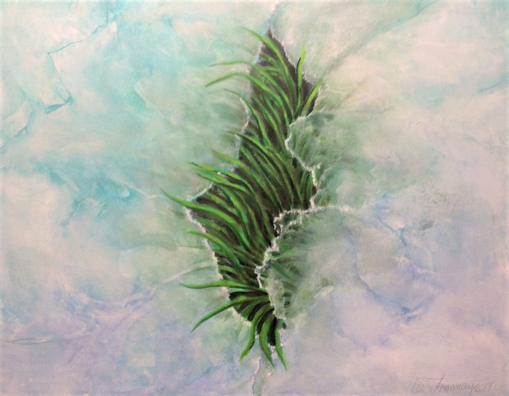 prayer for spring by W.E.Shumway acrylic 24 X 30inches (w) 850..JPG