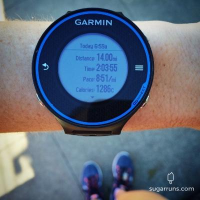 This week's 14 miles
