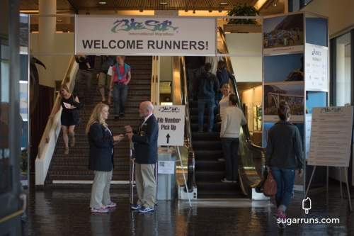 Marathon Expo Entrance