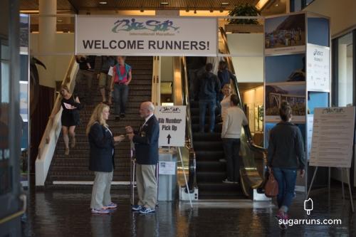 Marathon Expo Entrance