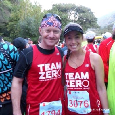 Neil and i - Go Team Zero!