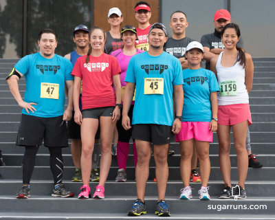 GRVL Runners before the race