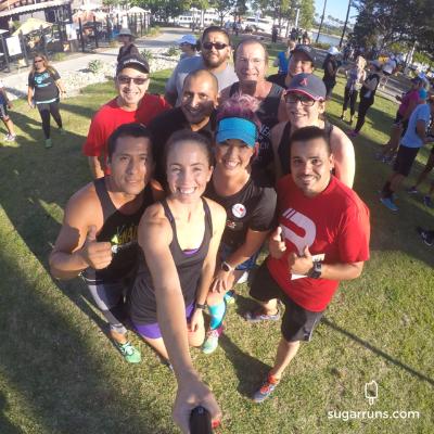 Thursday night fun run with the Grvl Crew!
