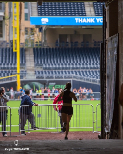 Finishing in Petco Park