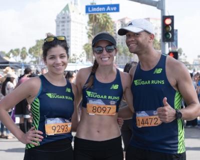 My athletes Sarah and Ludo!