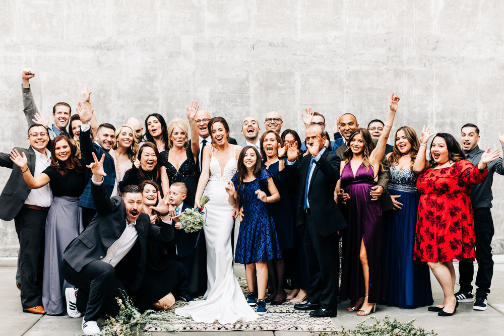 Our entire wedding party!