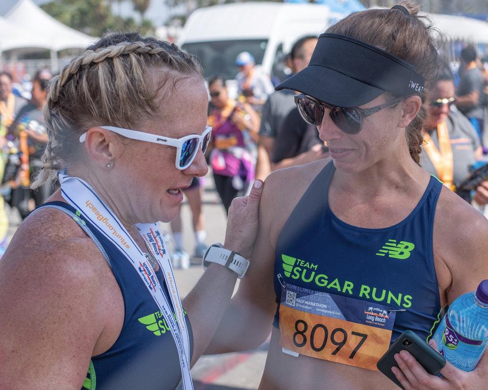 Team Sugar Runs @ Long Beach Marathon 2018