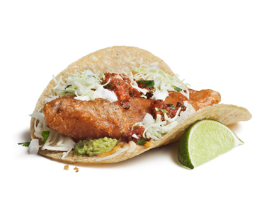 Don't knock fish tacos till you've tried them.  They may sound gross but the name is all that is gross about them.