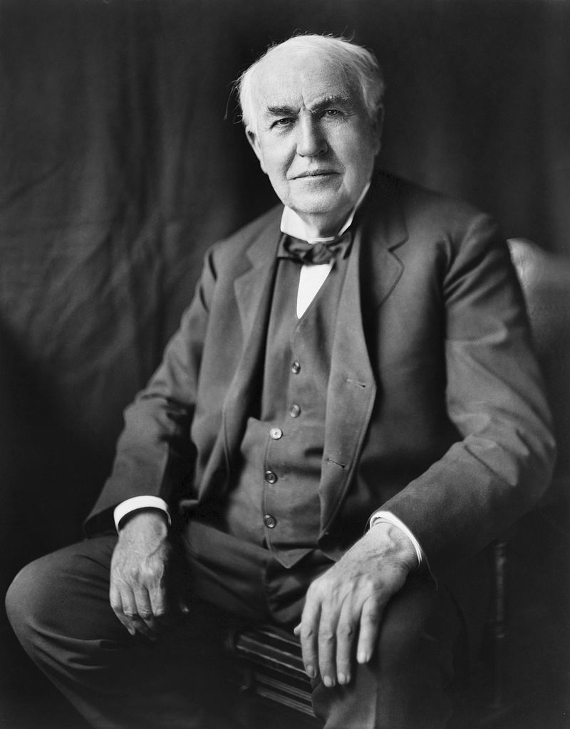 "Thomas Edison famously said that ""genius is one percent inspiration, ninety-nine percent perspiration."" Edison's genius led to the development of technologies that we could hardly imagine living without today.   The Papers of Thomas A. Edison   project gives us a much better sense of the perspiration that went into the development of those technologies and Edison's business decisions."