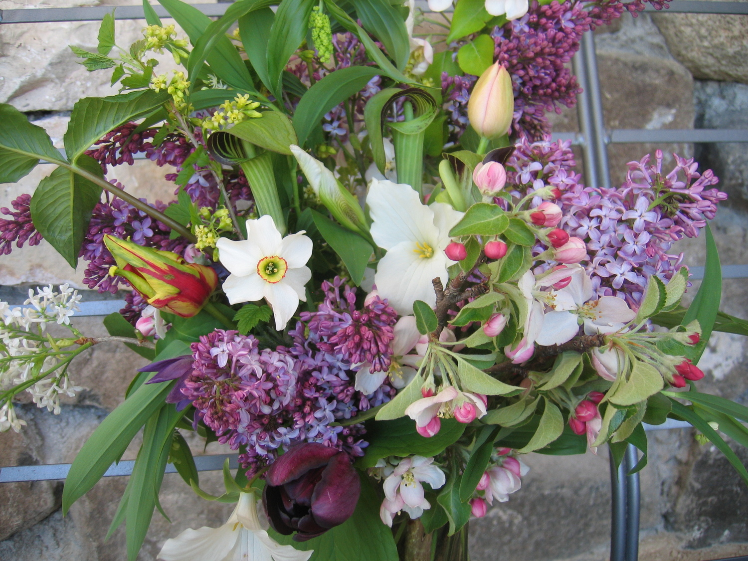 Spring Flower Bouquet Home Delivery Csa 426 525 2017 Willoway Farm