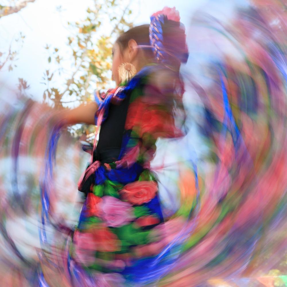 Dancing at El Pueblo